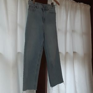 Cropped High Waist BDG Jeans